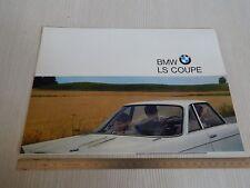 BROCHURE ORIGINALE BMW 700 LS COUPE' 1964 IN ITALIANO DEPLIANT PROSPEKT