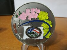 Federal Air Marshal Service Tokyo Olympics 2020 FAM FAMS Challenge Coin (Black)