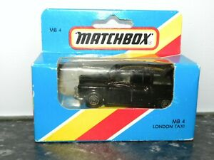 MATCHBOX 1981 LONDON TAXI MB 4 UNOPENED