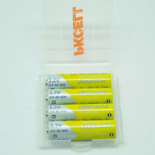 8x AA 1300mAh 1.2V Double A NiMH Rechargeable Battery+ 2x AA/AAA Battery Case
