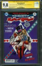 Harley Quinn 28 CGC 3XSS 9.8 Conner Palmiotti +1 I WANT YOU remark Uncle Sam