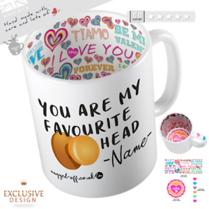 You Are My Favourite Knobhead Mug Valentine's Day/Anniversary For Him/Her