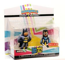 Funko Hero World Vinyl Series 3 Teen Titans Go! - Batman & Nightwing - Target EX