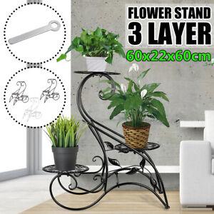 3 Tier Plant Stand Rack Flower Pot Dispaly Holder Shelf Garden Home  **