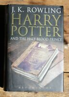 Harry Potter and the Half Blood Prince Bloomsbury Hardback Book Adult Cover 1st