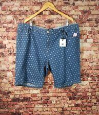 Nanette Lepore Plus Size polka Dot Denim Shorts Size 24W
