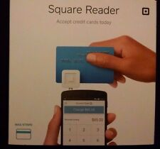 White Square 2015 Credit Card Reader for Apple & Android expired Rebate New