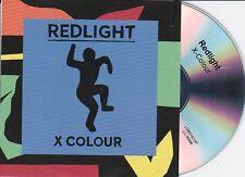 REDLIGHT X-COLOUR RARE 11 TRACK PROMO CD [PRODIGY/BILLIE BLACK]