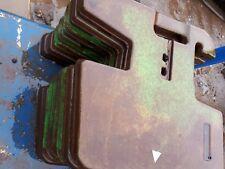 John Deere  tractor  front weights x8 including vat