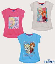 Disney Kurzarm Mädchen-Tops, - T-Shirts & -Blusen aus 100% Baumwolle