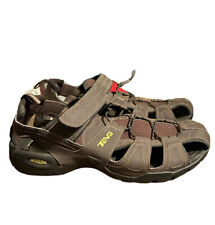 TEVA Men's Size 12 Forebay Fisherman Sandals ShocPad Walking Shoes 1001116
