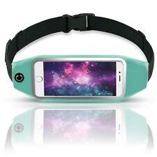 MoreFit Running Belt, Adjustable Water Resistant Waist Pack Reflective Fanny Bag