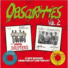 10 inch  25 CM Obscurities Vol.2 -12 Hot Rockers from the 50's and the 60's NEW