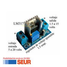 Modulo Regulador de Tension LM317