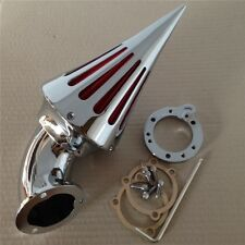Chrome Spike Cone Air Cleaner Intake Filter For Harley S&S CV Sportster All Year