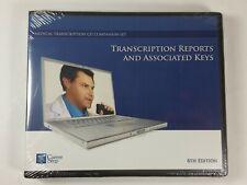 Transcription Reports & Associated Keys - Career Step 6th Ed. CD-ROM Medical