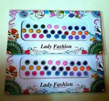 56 Bindi 8mm Indian Kumkum Tattoo Stickers Bellydance makeup Gift Crafts Decor