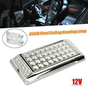 36LED Car Vehicle Interior Dome Light Indoor Roof Ceiling Reading Lamp White 12V