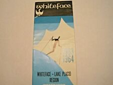 Vintage Brochure Whiteface Mountain Lake Placid Ny 1963-1964