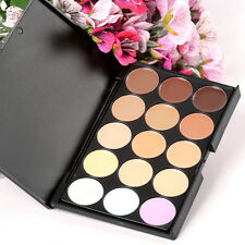 New Camouflage Concealer Make Up Cream Palette Eyeshadow 15 Color Professional