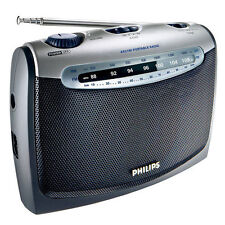 Philips AE2160 Portable Radio AC Main and Battery Operation