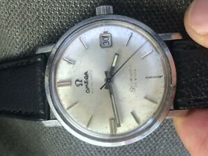 1960s OMEGA AUTOMATIC SEAMASTER DE VILLE STAINLESS STEEL DATE ORIGINAL DIAL RUNS
