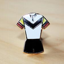 Negro, Blanco, Rojo Y Amarillo Liga de Rugby / Estilo Kit De Placa De Esmalte-Bulls Colores