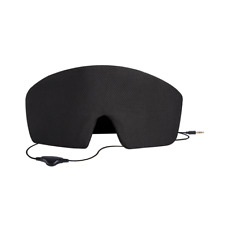 AGPTEK Ultra Soft Wired Sleep Headphones Comfortable Eye Mask with HD Speaker