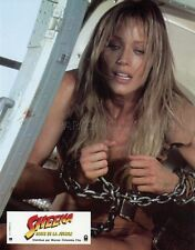 SEXY TANYA ROBERTS SHEENA QUEEN OF THE JUNGLE 1983 VINTAGE FRENCH LOBBY CARD #3