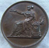 MED5079 - MEDAILLE D'HONNEUR SOCIETE DES CHEFS D'INSTITUTION DE LA SEINE 1880