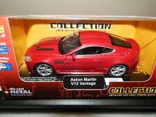 ASTON MARTIN V12 VANTAGE IN RED, BY WELLY @ 1/38th SCALE WITH  OPENING DOORS