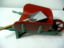 American Girl Felicity Red Wheel Barrow & Shovel From Colonial Stable Set