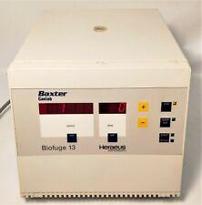 Heraeus (Baxter) Biofuge 13 (3613) MicroCentrifuge w/ 3743 Rotor - 24 x 1.5/2mL