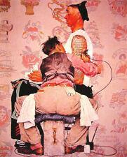 The Tattooist 8 X 10 Norman Rockwell Art Print