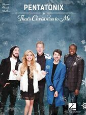 Pentatonix That's Christmas to Me Sheet Music Piano Vocal Guitar SongB 000172460