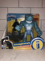 Imaginext Batman & King Shark figure set (DC Super Friends Fisher-Price) NEW C1