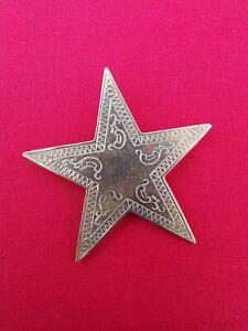 Orange Order LOL - Star Collarette Emblem Colour Gold