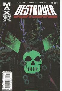 °DESTROYER #4 PART 4 von 5° US Marvel MAX 2009 Robert Kirkman