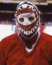 KEN DRYDEN GOALIE MASK MONTREAL CANADIENS HOF 8X10 PHOTO