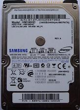 Samsung HM160HC IDE/PATA 160 GB 2,5 Zoll Laptop (NEU)