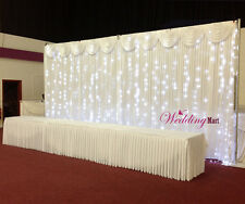 6Mx3M LED Fairy Lights for Wedding Backdrop