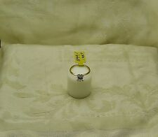 14 K  Yellow Gold Ring W/Cubic Zirconium (approx. 1.75 ct) Size 7.75 NG-18-Q1