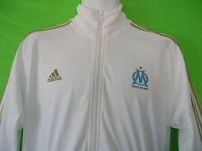 Adidas Olympic Marseille Core Track shirt sweat jersey Soccer Jacket Football~Lg