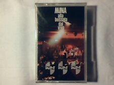 MINA Alla Bussola dal vivo mc cassette SIGILLATA RARISSIMA SEALED VERY RARE!!!