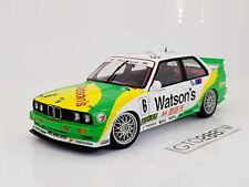 AUTOart Millennium 1:18 scale BMW E30 M3 Watson's #6 1991 Macau GP Pirro 89149