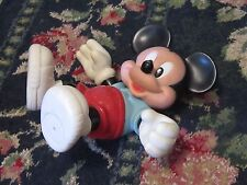 Plastic Mickey Mouse to hold bottles? red shorts doll toy figure blue shirt fun