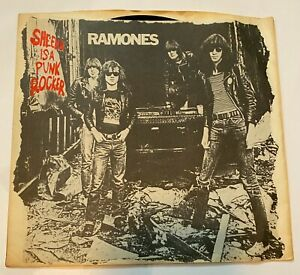 The Ramones - Sheena is a Punk Rocker - 45RPM - Mono & Stereo w. Picture Sleeve!