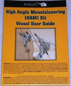 Pack of 3 Climbing Visual-Guides New Booklets Mountaineering Knots Snow Mobility