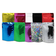 Stand Up Aluminum Foil Packaging Bags Mylar for Zip Food Pouches Lock Colorful