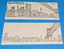 Beastie Boys 5 Boroughs 2 sided litho print w/ bonus sticker FREE SHIPPING WTC